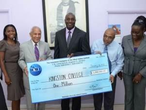 ICWI donates 1M to KC