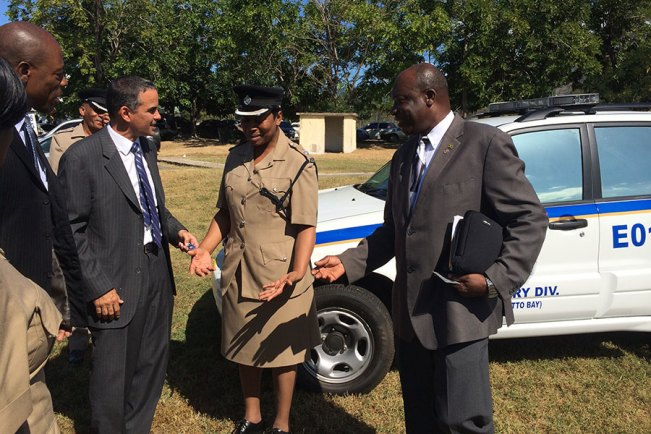 ICWI donates to the police