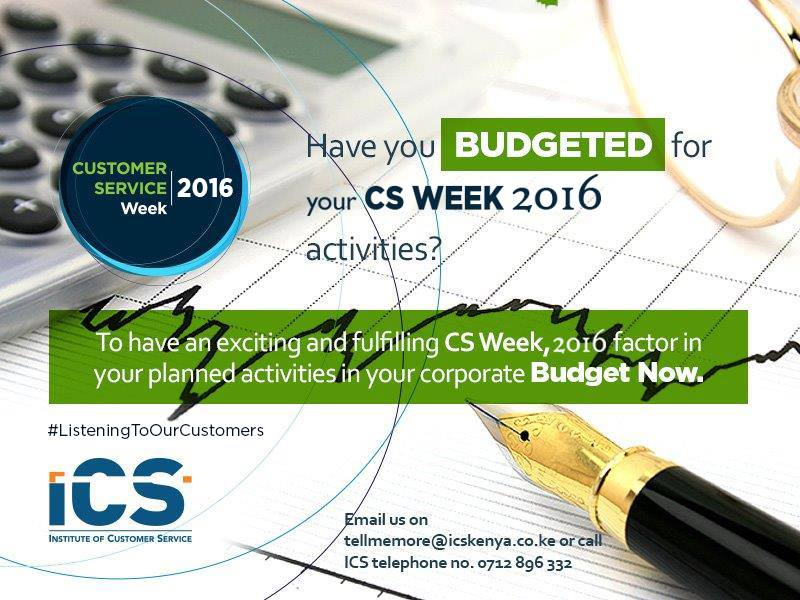 Have you Budgeted for CSWeek 2016?