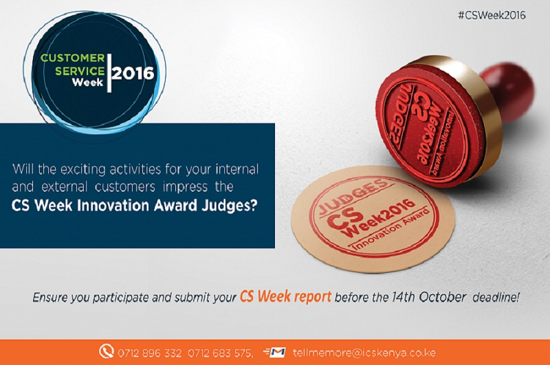 CSweek Innovation Awards 2016