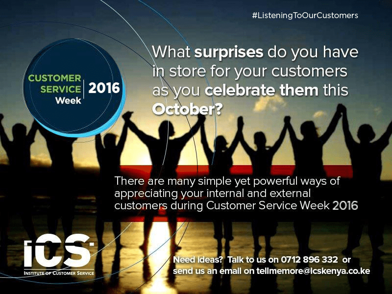 #CSWeek2016 is Around the Corner, are you Ready to Celebrate you Customers?