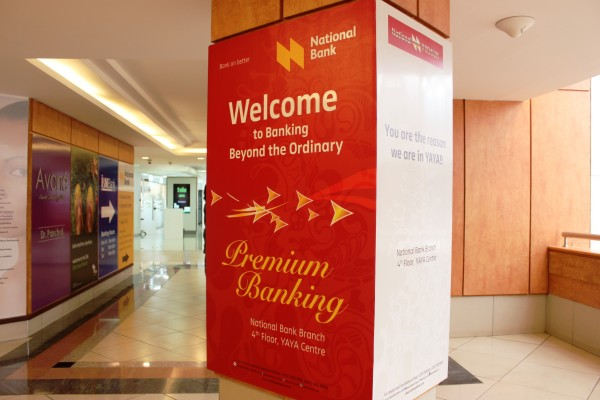 Customer Service Week Experience with National Bank