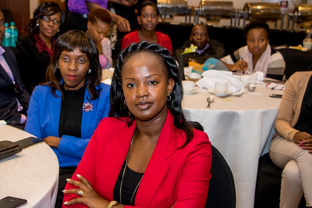 Guests attentively paying attention to the guest speaker