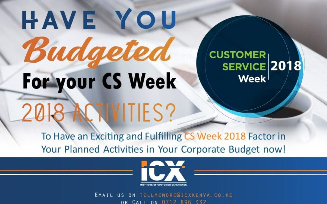 Have you Budgeted for #CSWEEK2018?
