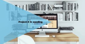 Project-X in wording ~ iCyberChic.com