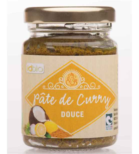 Pate de Curry Douce-bio