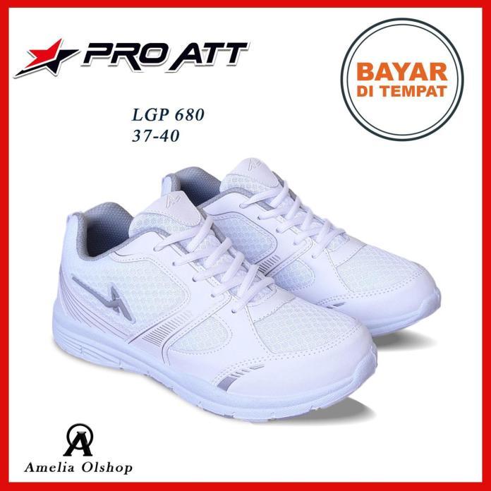 Amelia Olshop - Sepatu PRO ATT LGP 680  37-40 / Sepatu Wanita / Sepatu Sneakers Wanita / Sepatu Jogging Wanita / Sepatu Olahraga Wanita / Sepatu Kasual Wanita / Sepatu Putih Wanita