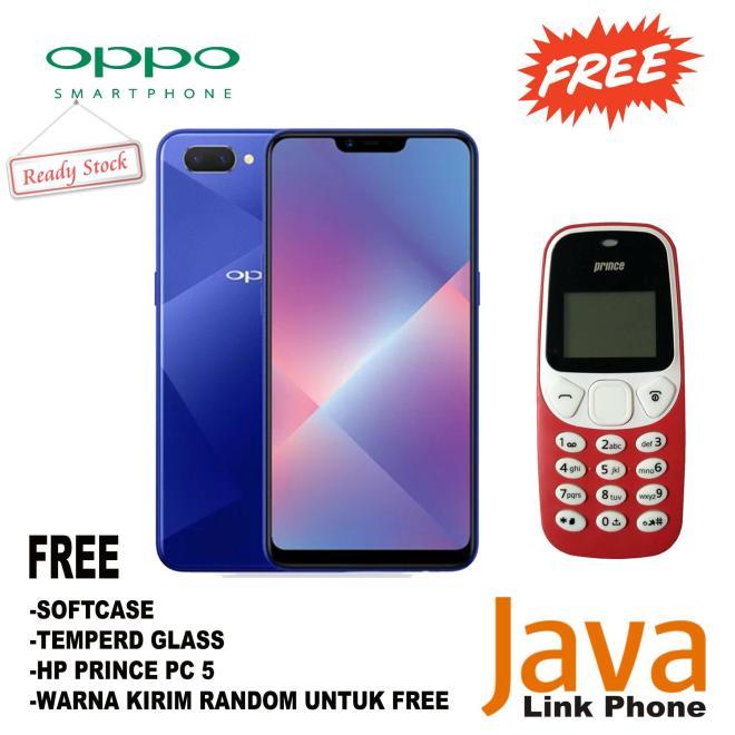 Oppo A3S - 3/32GB - Free Paket Hp Fitur - Garansi Resmi Oppo Indoneisa