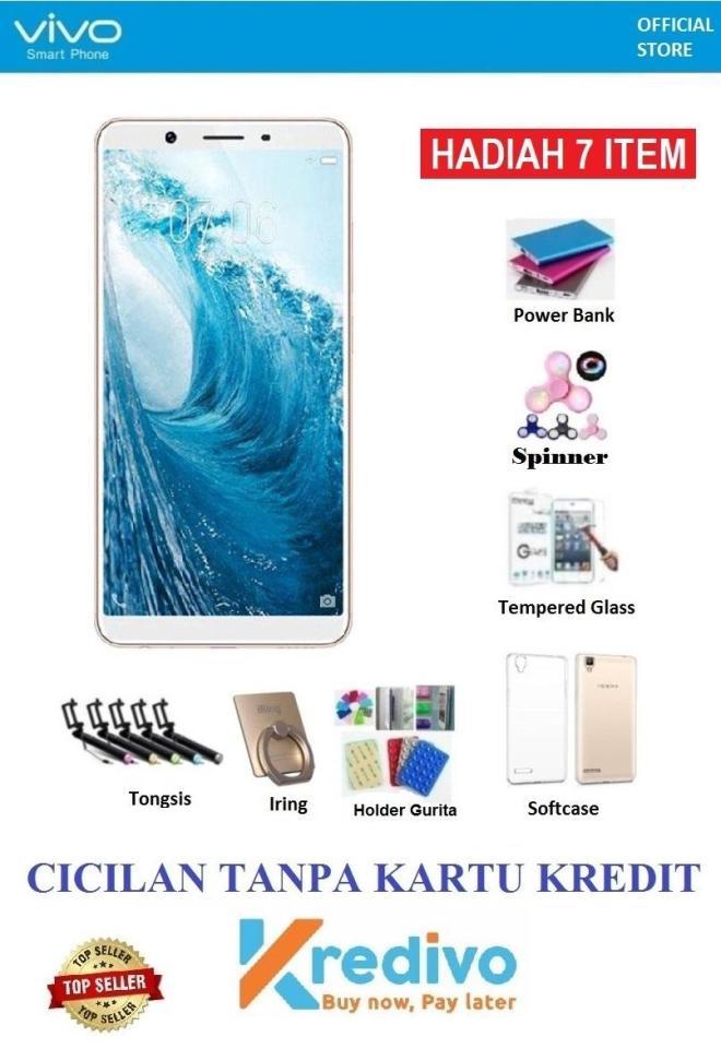 Vivo Y71 Ram 2GB/16GB - Cicilan Tanpa Kartu Kredit + Free 7 Items
