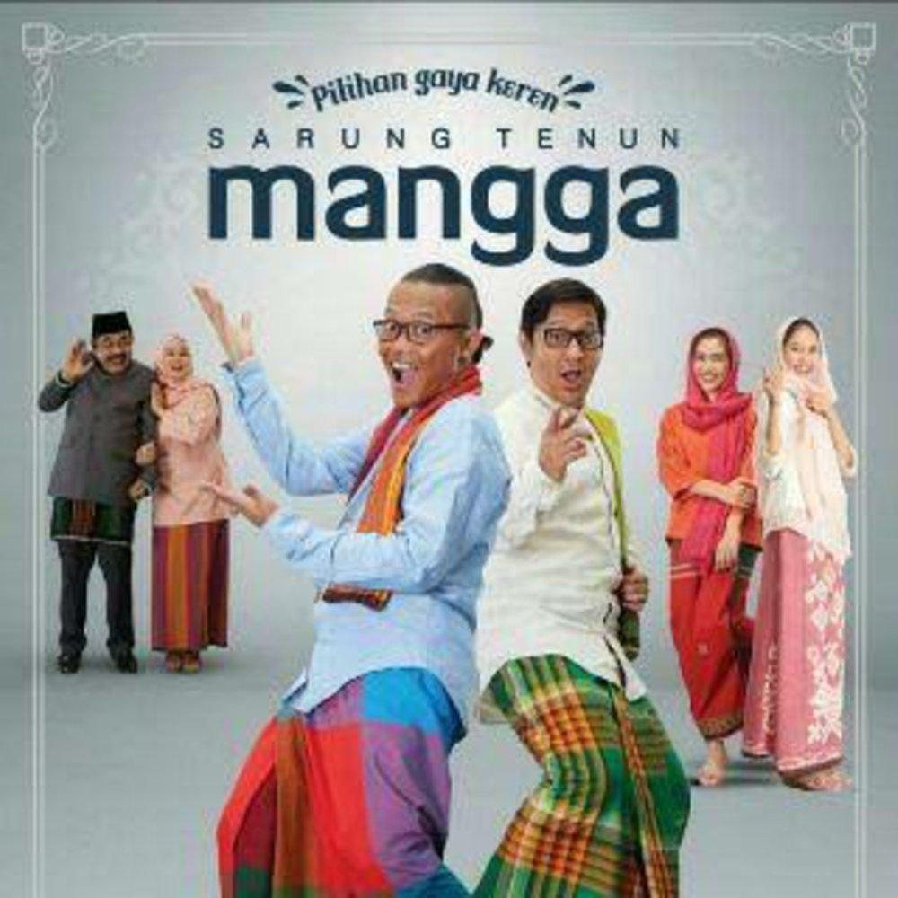 Sarung Tenun Mangga Fiesta Polos Warna - Random -