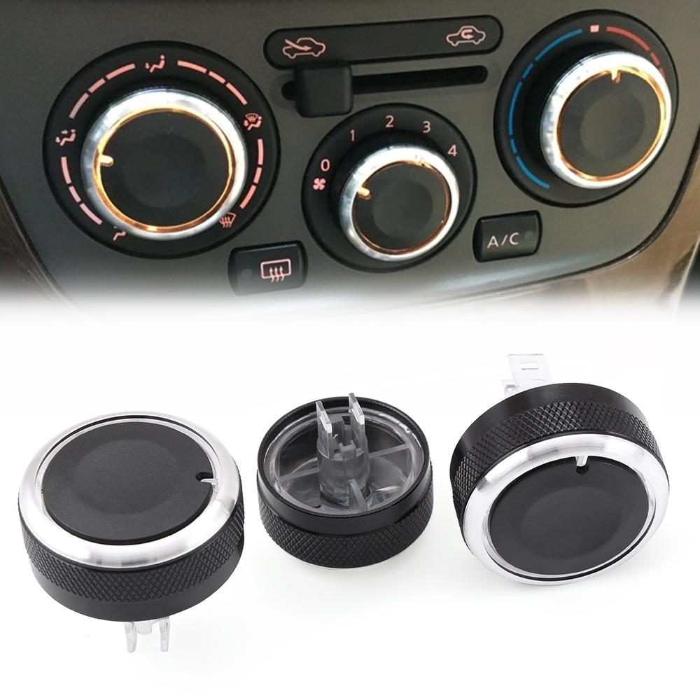 Aksesoris Mobil Button Car AC Air Conditioner Button Heat Control Switch For Nissan Tiida Livina Geniss NV200 Car Styling