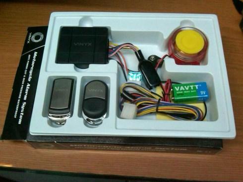 Alarm Motor Vinyx