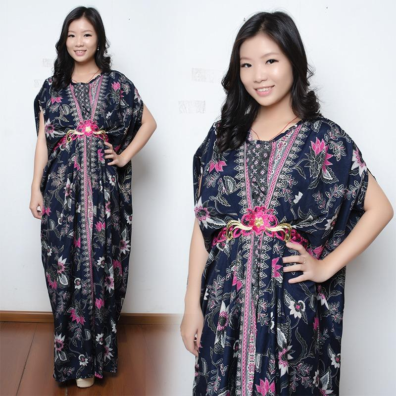 SB Collection Dress Maxi Branda Longdress Kaftan Gamis Jumbo Batik Wanita