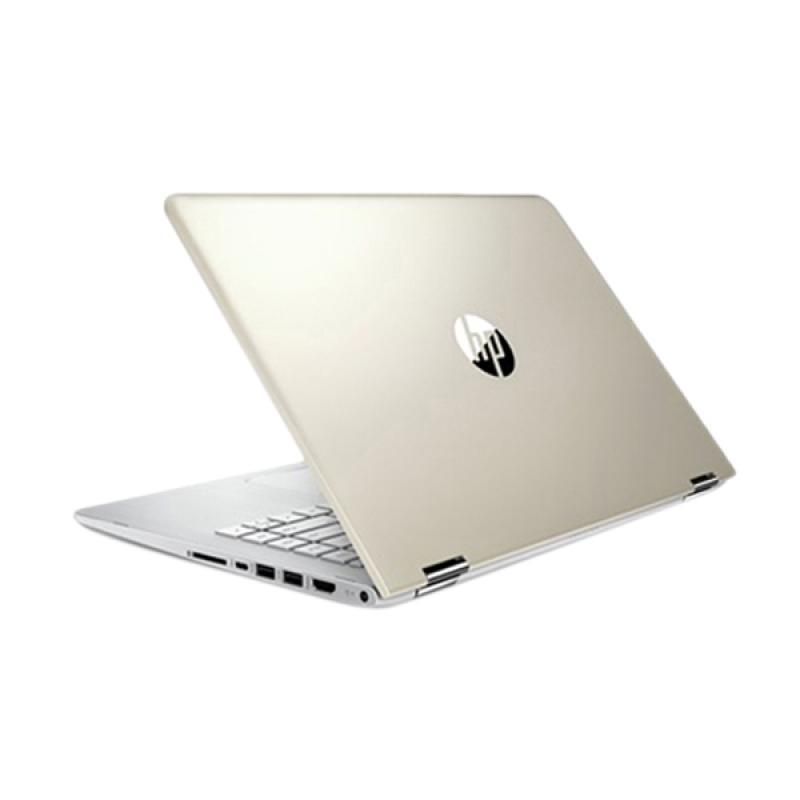 HP Pavilion x360 - 14-ba004tx Notebook-Gold [14 inch HD Touchscreen]