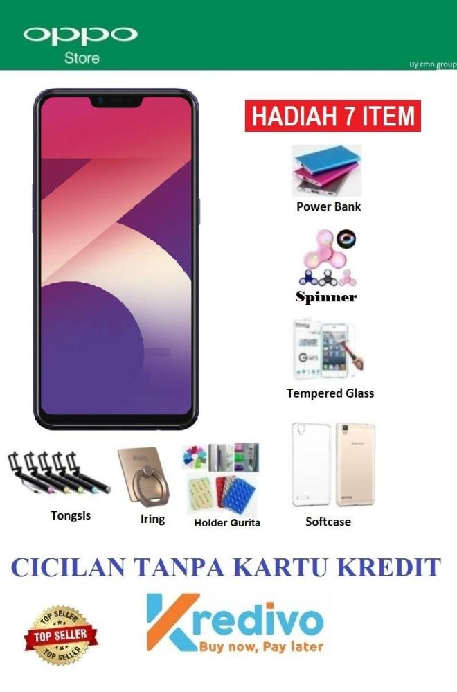OPPO A3S Ram 2GB/16GB - Ciicilan Tanpa Kartu Kredit + Paket 7 Acc