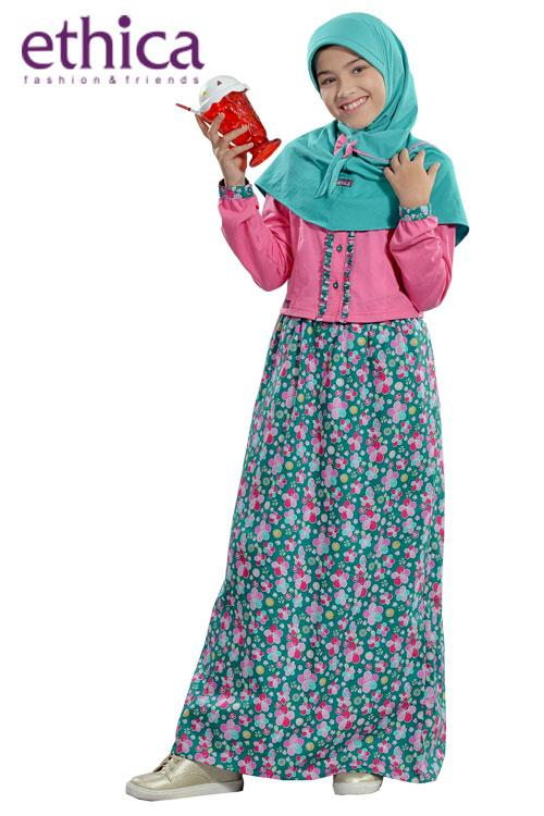 Ethica Moslem Fashion Dress Anak OSK 53 (Tosca)