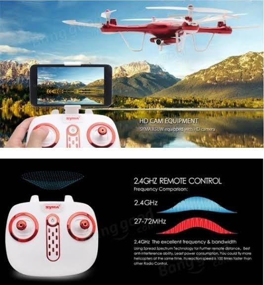 drone camera murah terbaik wifi kamera x5uw x 5uw x-5uw quad copter