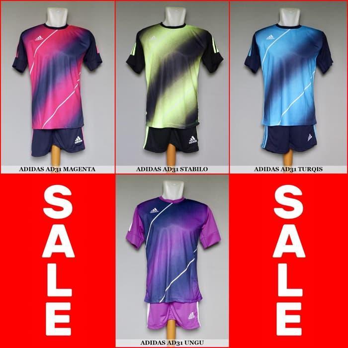 Paling Laris !! Setelan Futsal / Sepakbola  AD31 (Baju Kaos
