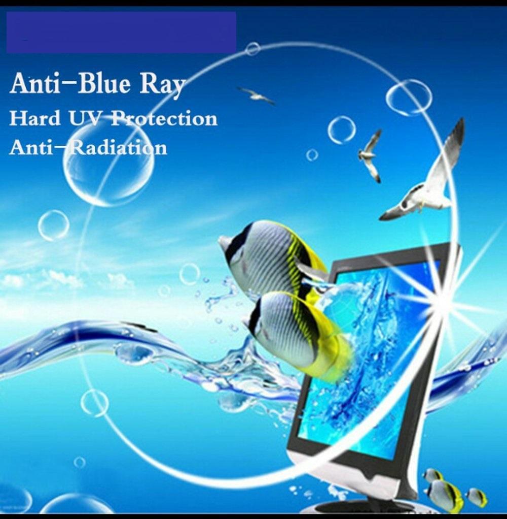 Lensa BLUE RAY Visculo 1.56 Blue Light Shield Lumiere Plus BLUE UV BLOCKER Anti Radiasi Komputer - Normal / Minus / Cylinder
