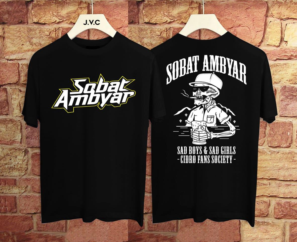 Akp Distro Kaos T Shirt Kaos Sobat Ambyar Kaos Distro