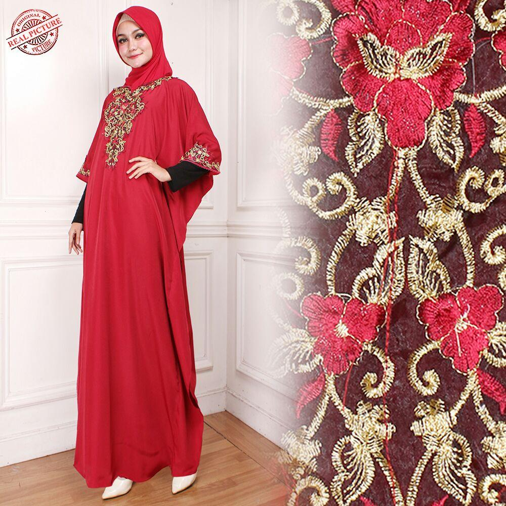 Miracle Dress Maxi Riana Longdress Kaftan Gamis Jumbo Batik Wanita
