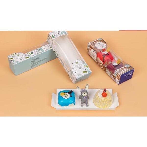 TERLARIS!!! kotak cheesecake box kue bolu cake mika packing baking tool dus mika HARGA TERMURAH
