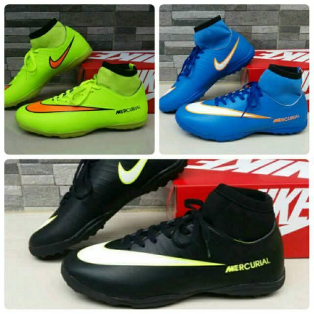 Sepatu Futsal , Nike Mercurial Superfly , Bola Sport Pria Murah Olahraga Cowok Keren Lari Gaya