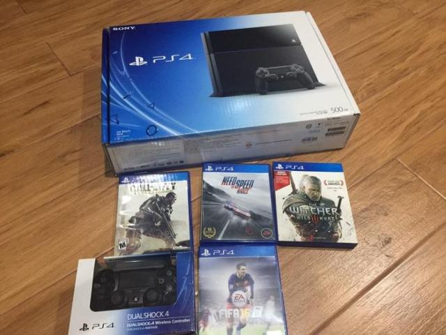 SONY PS4 Slim CUH 2106A Game Console [500 GB