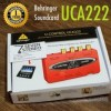 Review gambar Behringer Uca 222 Soundcard With