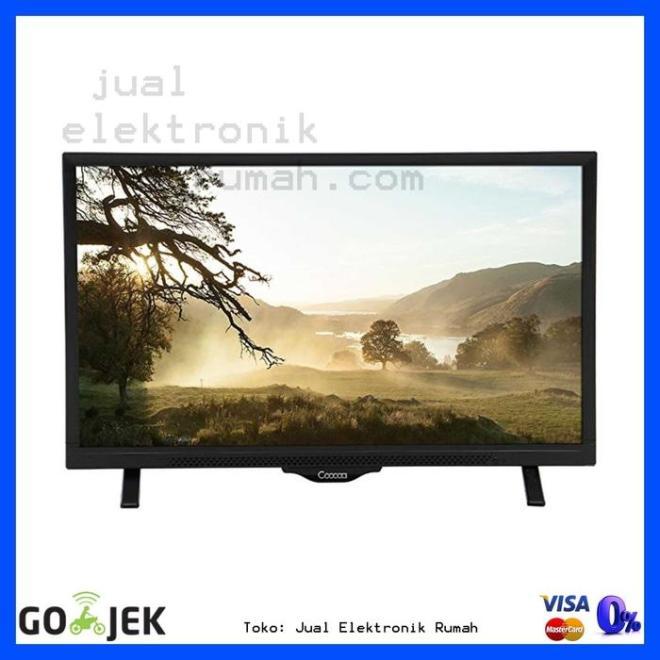 ORIGINAL - LED TV Televisi Coocaa 24 Inch 24 W 190 Kualitas Terbaik