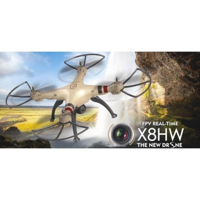 Drone canggih sederhana kamera Camera Syma X8HW X8HW WIFI FPV murah