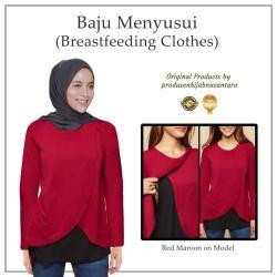 Baju Hamil Dan Baju Menyusui Hanifa Breastfeeding Clothes