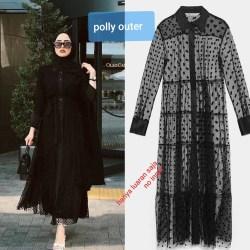 Baju Atasan Wanita Terbaru 2020Â / Baju Wanita Muslimah / polly Outer