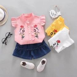 Baju Atasan Setelan Anak perempuan / Cewek umur 3bulan - 3tahun