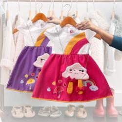 Baju Bayi Perempuan / Dress Bayi Perempuan / Gaun Bayi Perempuan / 2918