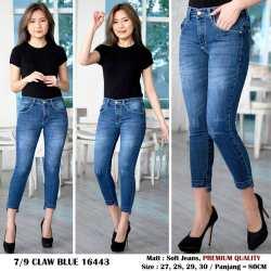 ✅COD BIA - Celana Jeans 7/9 Nagita Premium / Celana Jeans Model Kaki NagitaTerbaru