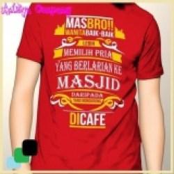 Baju Kaos Cotton Distro Islam Kaos Cotton Distro Islami Dakwah 134