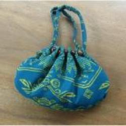 Jnanacrafts dompet wanita pouch warna random motif rang rang