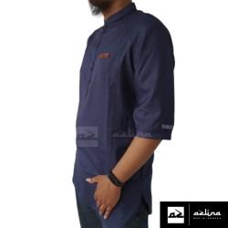 Baju Koko Muslim Pria Terbaru Kekinian Lengan Tigaperempat Gamis Muslim Pakistan Baju Muslim Pria Keren Bahan Katun Madinah Impor Best Quality bisa COD Bayar Di tempat Brand Azlina Fashion Muslim Style Modern