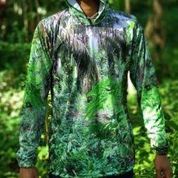 Baju Camo Motif Hutan Pohon Sawit