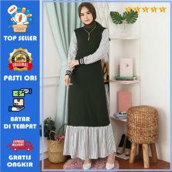Baju Gamis Wanita Terbaru 2020 / Gamis Wanita Muslimah / Gamis Rample