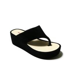 Bara Bara - Sandal Wanita - Sandal Jepit Wedges Wanita Casual Simple B2953 Warna Dikirim Random
