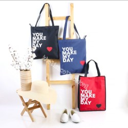 ( COD ) Tote Bag _ TAs FAshion Wanita - Tas Kain Kanvas - Tas Jinjing - Tas Korea K Pop - Khalisacollection1