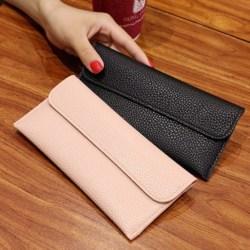 Dompet Wanita Panjang Modern Compact Women Wallet Import Korea W25