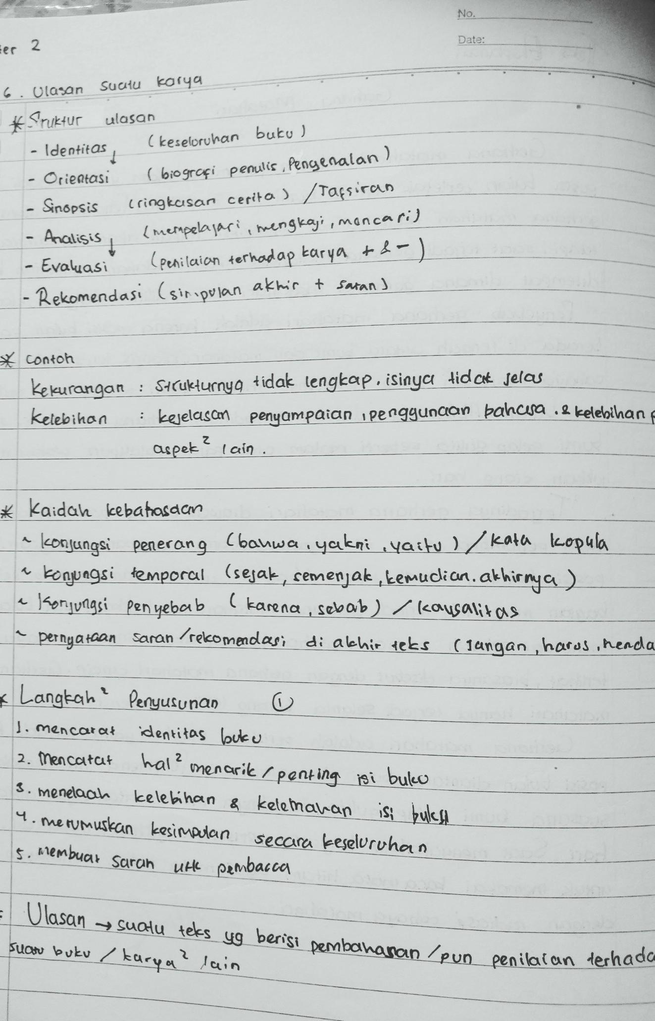 17 Contoh Makalah Bahasa Indonesia Tentang Rangkuman