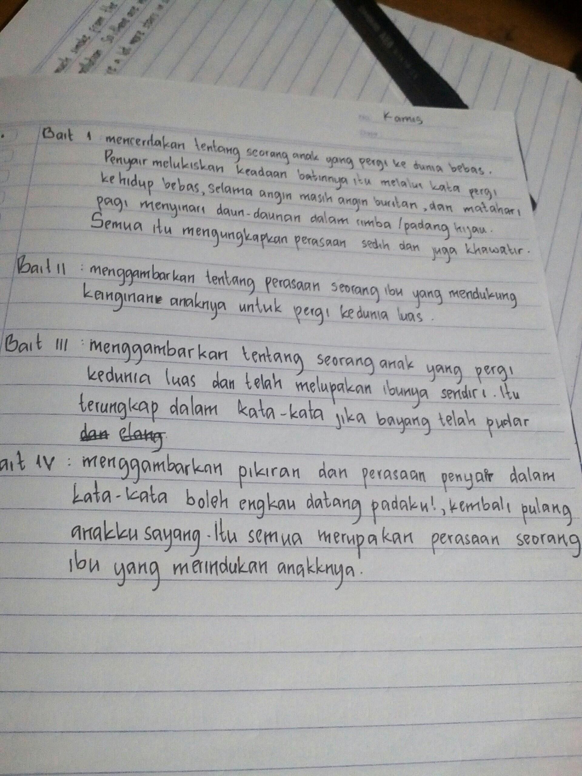 Kegiatan 4 3 Bagian A Buku Bahasa Indonesia Kelas 8 Yang