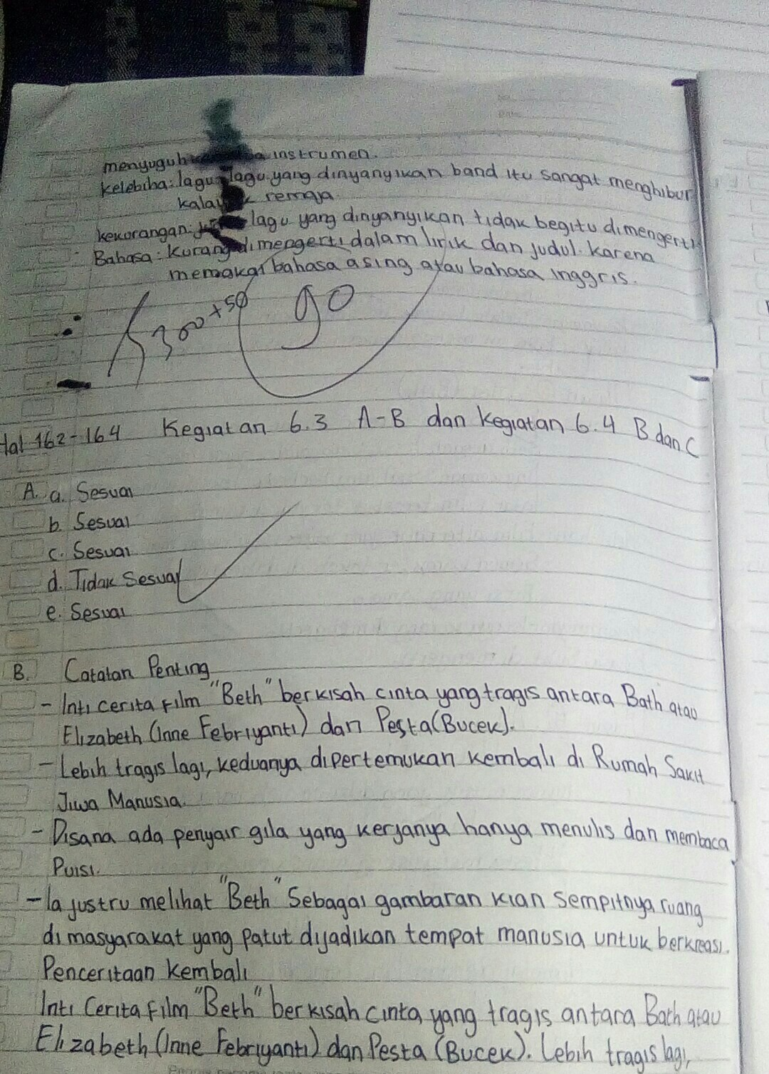 Bahasa Indonesia Kelas 8 Kegiatan 6 3