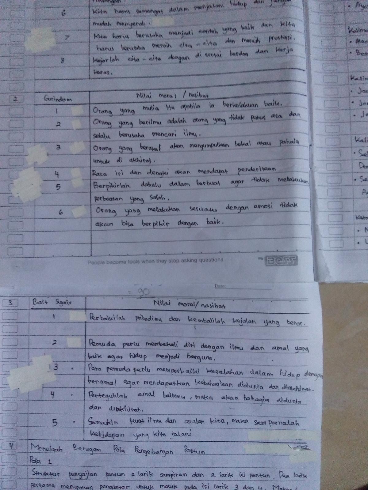 Kunci Jawaban Buku Bahasa Indonesia Kelas 7 Halaman 175 Guru Galeri
