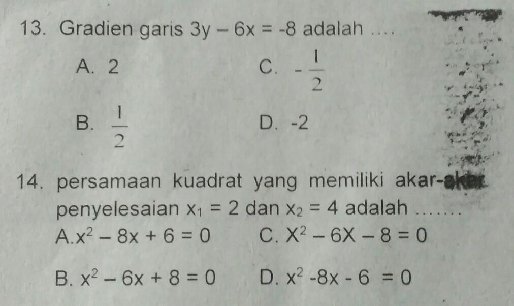 Tolong Matematika Ambyar Brainly Co Id