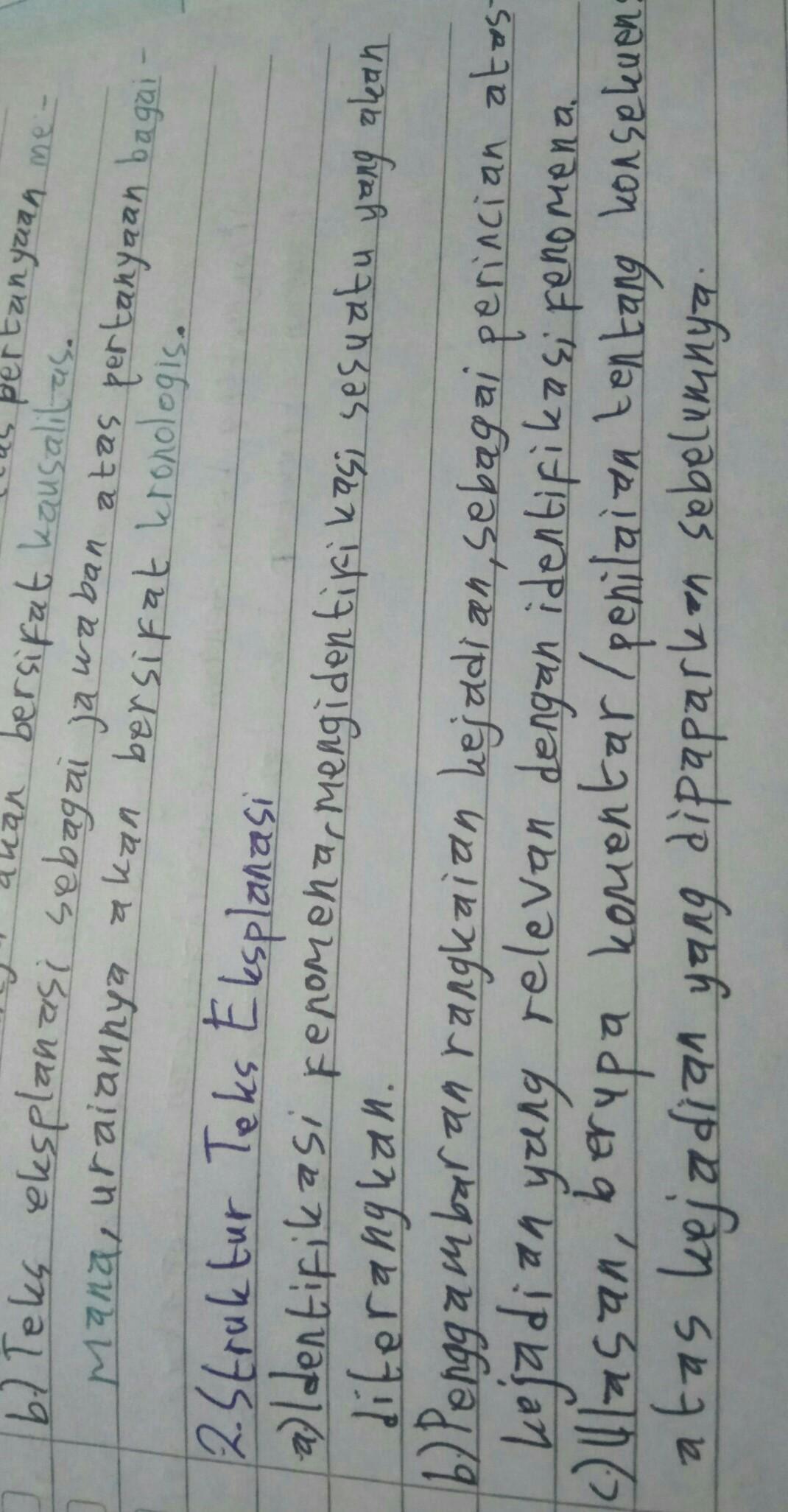 Sebutkan Dan Jelaskan Struktur Teks Anekdot : sebutkan, jelaskan, struktur, anekdot, Jelaskan, Struktur, Eksplanasi, Pendidikan